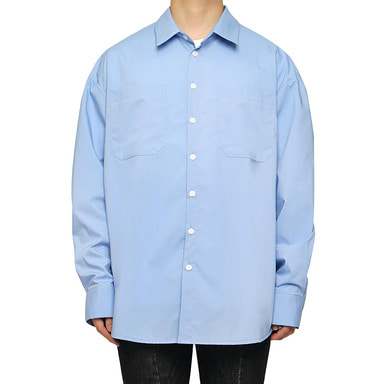 [DEADEND] SKY BLUE QUOTE SHIRTS