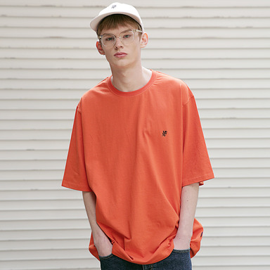 [MASSNOUN] MSNU OVERSIZED T-SHIRTS MSETS004-OR