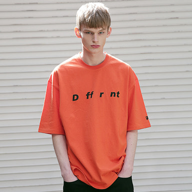 [MASSNOUN] DIFFERENT REFLECTIVE OVER-FIT T-SHIRTS MSETS002-OR