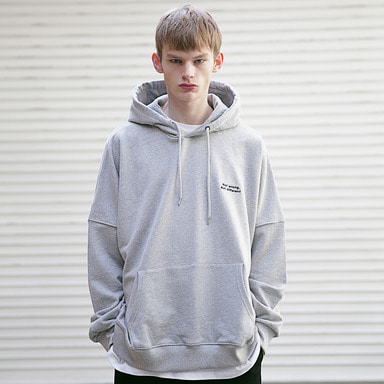 [MASSNOUN] SB GENDER OVERSIZED HOODIE MSEHD001-GR