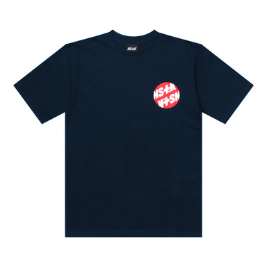 [2018 SUMMER SALE] [NSTK] EMBLEM TEE (NAVY)
