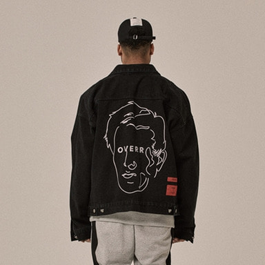 [OVERR] 18SS SENANCOUR WASHING DENIM JACKET