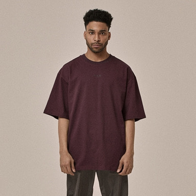 [OVERR] 18SS POSTCARD PURPLE TEE