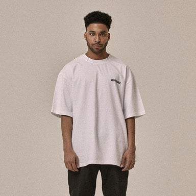 [OVERR] 18SS SYNTHESIZE WHITE TEE
