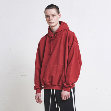 [SUMMER SALE 20% OFF] [DPRIQUE] OVERSIZED HOODIE (RED)