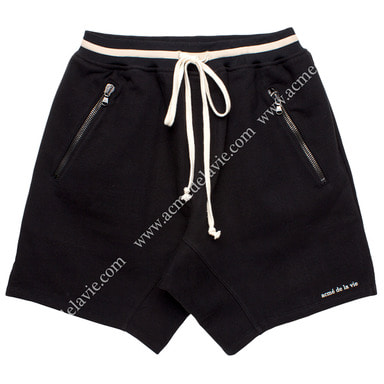 [ACME DE LA VIE]  ADLV 18SS TRAINNING SHORT PANTS (BLACK) 트레이닝 반바지 블랙