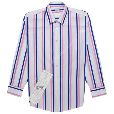 [ACME DE LA VIE] ADLV STRIPE SHIRT (WHITE) 스트라이프 셔츠 화이트