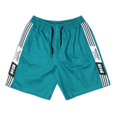 [NSTK] NLMT LINE SHORT PANTS (GREEN)