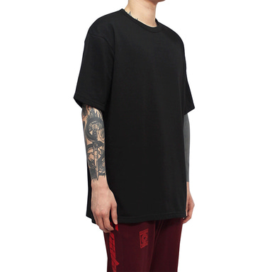 [CLACO] SQUARE TEE V3 (BLACK)