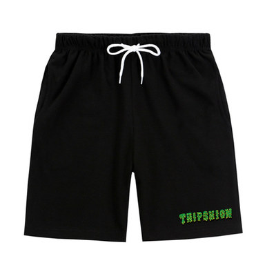 [TRIPSHION] GREEN SLIME PANTS BLACK