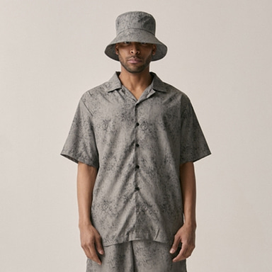 [OVERR] 18SU WATER WASHING GRAY SHIRTS