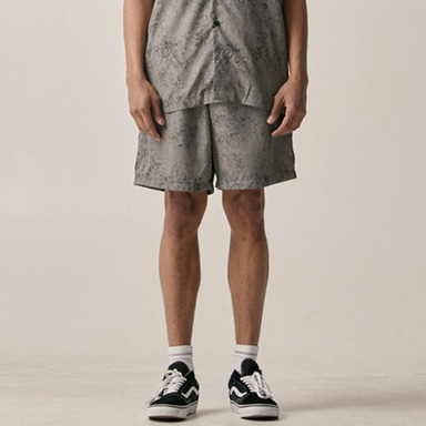 [OVERR] 18SU WATER WASHING GRAY PANTS