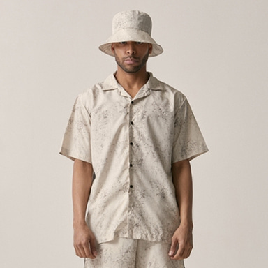 [OVERR] 18SU WATER WASHING BEIGE SHIRTS