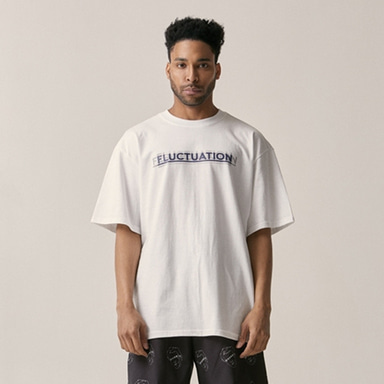 [OVERR] 18SU FLUCTUATION WHITE TEE