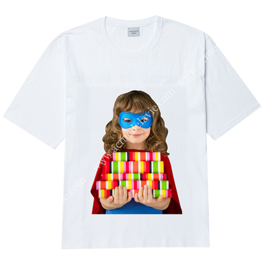 [ACME DE LA VIE] ADLV BABY FACE SHORT SLEEVE T-SHIRT (WHITE) 베이비 페이스 반팔 화이트 젤리