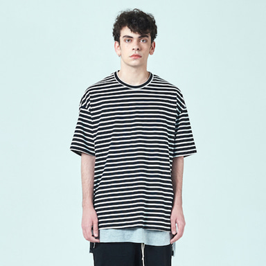 [DEADEND] BLACK STRIPE T-SHIRTS
