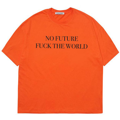 [DEADEND] ORANGE NO FUTURE T-SHIRTS
