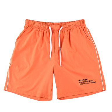 [WANTON] STRING HALF PANTS ORANGE