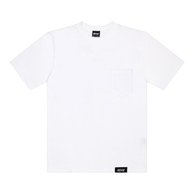 [2018 SUMMER SALE] [NSTK] EASY CODE 002 POCKET TEE (BLK)