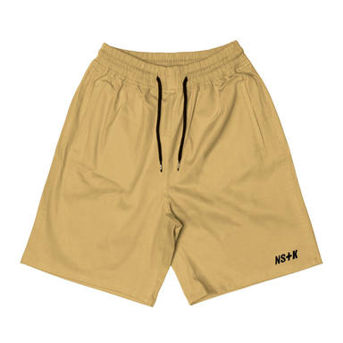 [NSTK] EASY CODE 003 SHORT PANTS (BEIGE)