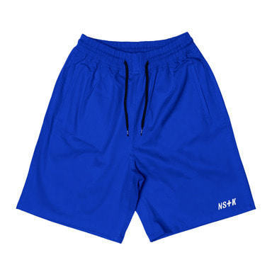 [NSTK] EASY CODE 003 SHORT PANTS (BLUE)
