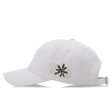 [BLACK BLOND] BBD SIDE LOGO CAP (WHITE)