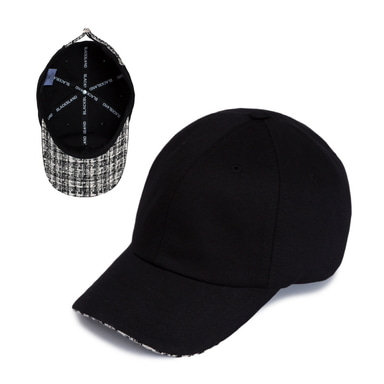 [BLACKBLOND] BBD STREET TWEED CAP (BLACK)