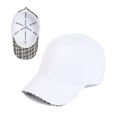 [BLACK BLOND] BBD STREET TWEED CAP (WHITE)