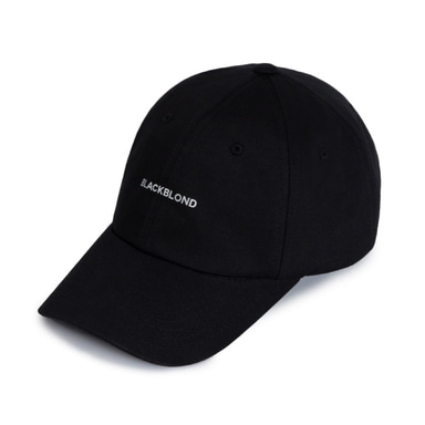 [BLACKBLOND] BBD REFLECTION LOGO CAP (BLACK)