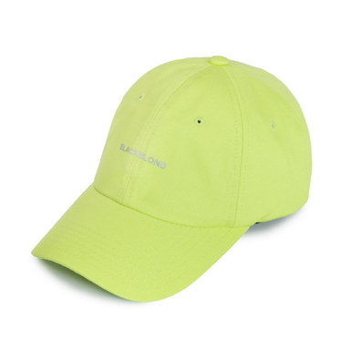 [BLACK BLOND] BBD REFLECTION LOGO CAP (NEON)