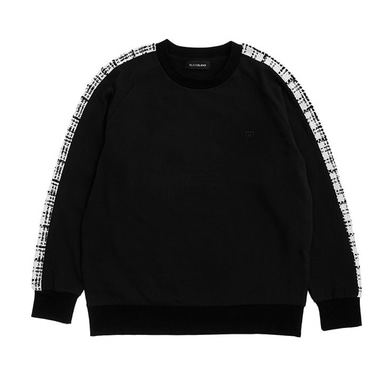 [BLACK BLOND] BBD TWEED SWEATSHIRT VER.1 (BLACK)