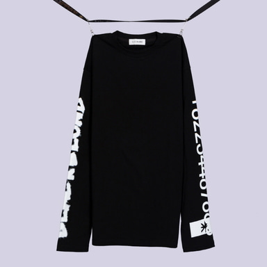 [BLACKBLOND] BBD GRAFFITI NUMBER TEE (BLACK)