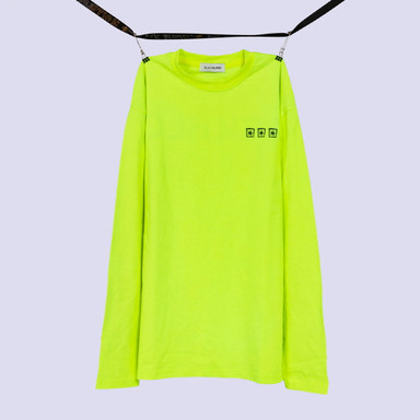 [BLACKBLOND] BBD THREE STARS LOGO TEE (NEON)