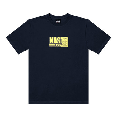 [2018 SUMMER SALE] [NSTK] NSTK NELEMENT TEE 2 (NAVY)