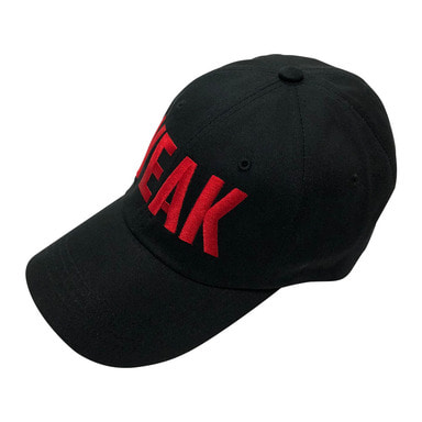 [SUMMER SALE 10%] [VEAK] EP.2-5 SIGNATURE CAP (BLACK/RED)