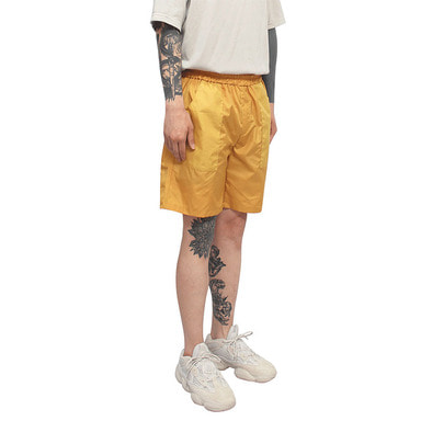 [CLACO] SQUARE SUMMER SHORTS (ORANGE)