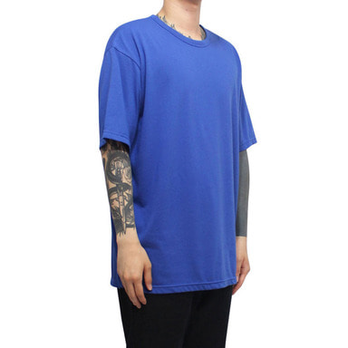 [CLACO] SQUARE TEE V3 (DEEP BLUE)