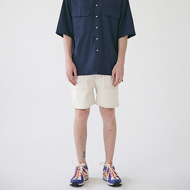 [MASSNOUN] STICH POCKET SHORT PANTS MSESP005-RW