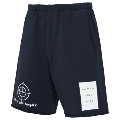 [ACME DE LAVIE] ADLV TARGET SHORT PANTS NAVY 타겟 반바지 네이비
