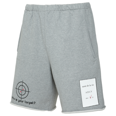 [ACME DE LAVIE] ADLV TARGET SHORT PANTS GREY 타겟 반바지 그레이