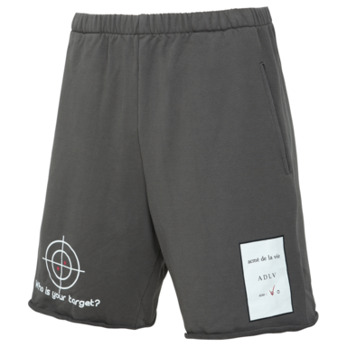 [ACME DE LAVIE] ADLV TARGET SHORT PANTS CHARCOL 타겟 반바지 차콜