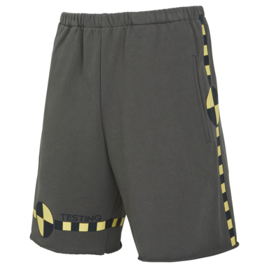 [ACME DE LAVIE] ADLV CRASH TESTING SHORT PANTS CHARCOAL 크래쉬 반바지 차콜