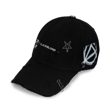 [BLACKBLOND] BBD REFLECTION LOGO NO SYMPATHY CAP (BLACK)