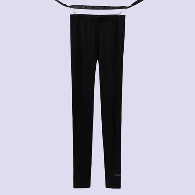 [BLACK BLOND] BBD REFLECTION LOGO LEGGINGS (BLACK)