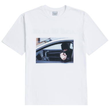 [ACME DE LAVIE] ADLV SHORT SLEEVE T-SHIRT ROBBER WHITE