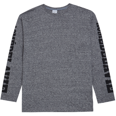 [ACME DE LA VIE] ADLV NOT FOR RESALE LONG SLEEVE TEE (CHARCOAL)