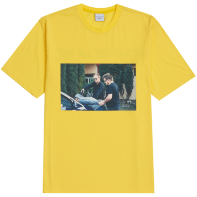 [ACME DE LA VIE] ADLV ARREST T-SHIRT (YELLOW)