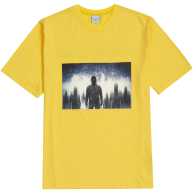 [ACME DE LA VIE] ADLV DARKNESS T-SHIRT (YELLOW)
