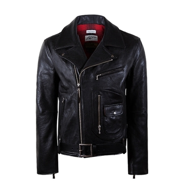 [18 HOUR] 2# DOUBLE RIDER JACKET-HORSE HIDE