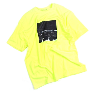 [18 HOUR] 13#LIVE STAGE NEONGREEN SHORT TEE